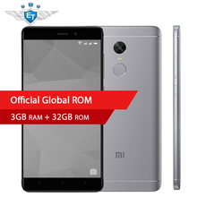 "Original Xiaomi Redmi Note 4X 4 X Smartphone Snapdragon 625 Octa Core 5.5"" FHD 3GB RAM 32GB ROM 13.0MP Camera Fingerprint ID"
