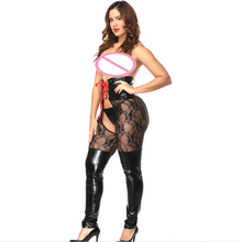 Buy ENGAYI Sexy Brand Summer Women Faux Leather Latex Underwear Erotic Lingerie Babydolls Nuisette Lenceria Costumes Porn A1075