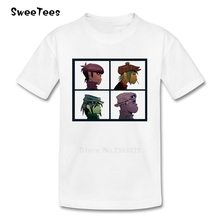 Baby Gorillaz T Shirt Kid 100% Cotton Toddler Round Neck Baby Tshirt children's Infant Tees 2017 T-shirt For Boy Girl