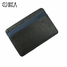 New arrival high quality PU leather+suede men money clips magic wallets Korea fashion mini purse green and orange XF001(China)