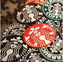10pcs/lot Silicone Coasters Cup Cushion Holder Starbucks sea-maid coffee Coasters Cup Mat(China)