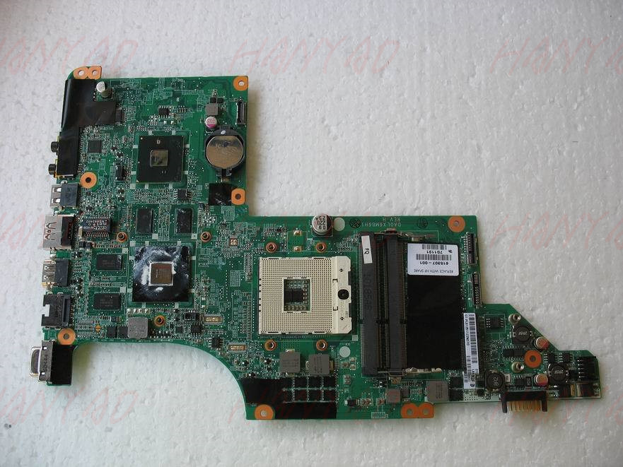 605320-001 For HP DV7 DV7-4000 Laptop Motherboard Mainboard HM55 Non-integrated Free Shipping 100% test ok