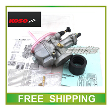 KOSO Carburetor oko 34mm Motorcycle Carburetor 250cc 300cc 350cc GY6 Scooter  high performance racing free shipping