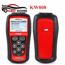 New Arrival KW808 KONNWEI Universal Car OBDII EOBD Code Reader Scanner OBD2 Diagnosis Scan Tool MS509 Same As Maxiscan MS509(China)