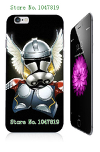 Mobile Phone Case Retail 1pc star wars logo design Protective White Hard Case For Iphone 6 6th Free Shipping