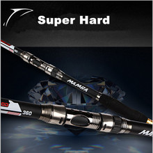 Sea Pole Carbon Material Fishing Rod Quality 2.1m 2.4 3.0 3.6m Telescopic fishing rod carbon fiber 540 Quality Spinning Rods
