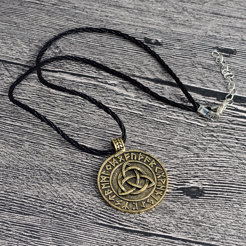 QIHE-JEWELRY-Viking-necklace-Circle-trinity-pendant-necklace-Valknut-necklace-Viking-norse-rune-jewelry-Gift-for(4)