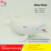 Hot toys Beluga Whale (White Whale) Simulation model Marine Animals Sea Animal kids gift educational props (Rhincodon typus)