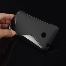 Soft S-Line Wave Anti-skid TPU Gel Case Skin for Nokia Lumia 630 635 638 Mobile Phone Protective Rubber Matte Cover