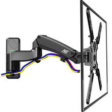 NB F500 TV Wall Mount 50-60 inch LCD Monitor Holder Gas Spring Free Lifting Swivel Stretchable Stands Long Arm TV Hang Bracket(China)