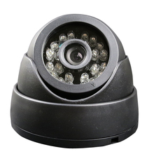 Free Shipping New 4 Pin 12V DC SONY 700TVL HD CCD IR Night Vision Dome Car Camera for Bus Truck Van(China)
