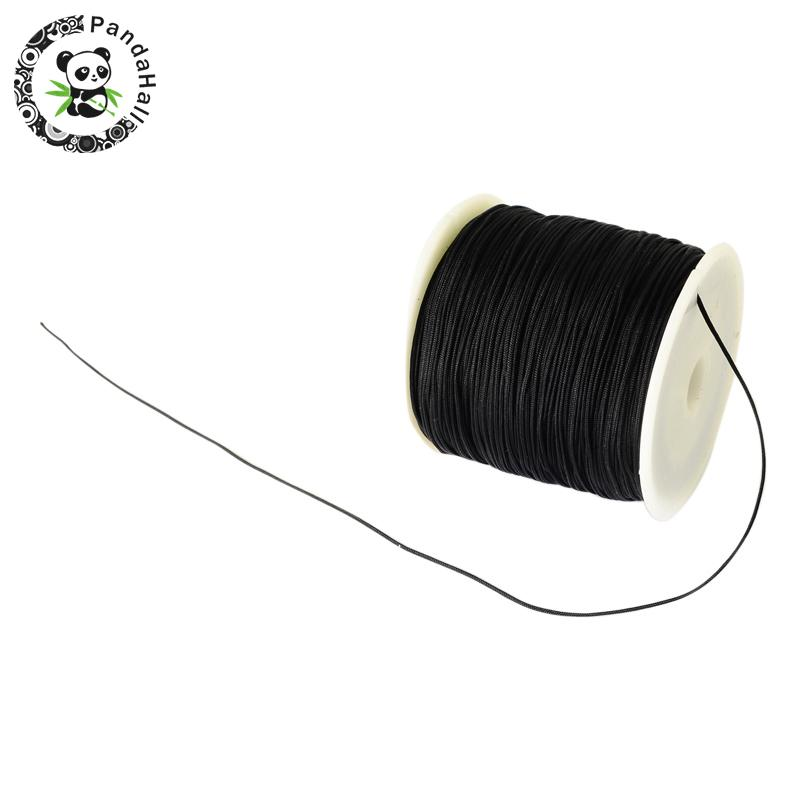0.8mm 90m/roll Nylon Thread Cord For Bracelets Beading Necklace Jewelry DIY Accessories Making 5