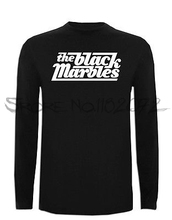 Camiseta The Black Marbles Manga Larga XXL XL L M S Size Blues Hard Rock TShirt