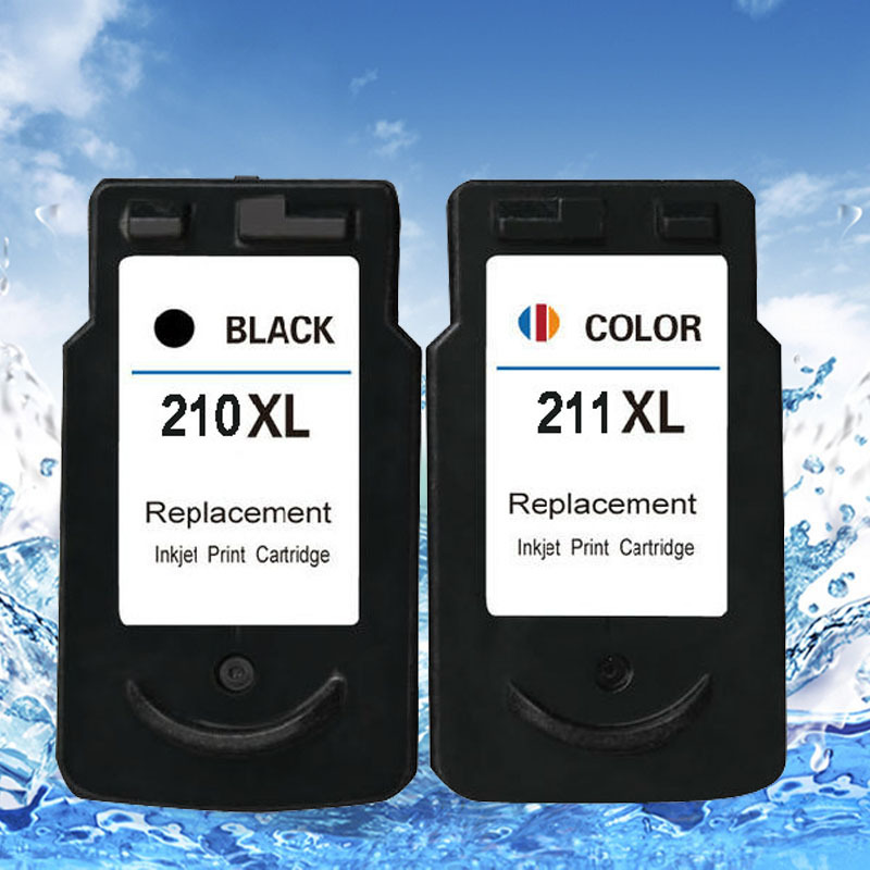 2 piece of 1set remanufactured pg210 cl211 ink cartridge for iP2702 MP240  MP250  MP270  MP480 MP490 MP495 MX320 printer<br><br>Aliexpress