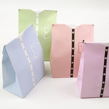 12 sets 4 color paper bag suit theme wedding birthday gift packaging party candy holding