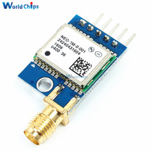For Replace Neo-6M Dual Antenna Interface SMA/IPEX GPS Mini NE0-7M EEPROM Satellite Positioning Module 51 SCM MCU For Arduino(China)