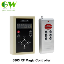 6803 RF Remote Controller 133 Change For Dream Magic Color Chasing 5050 RGB LED Strip