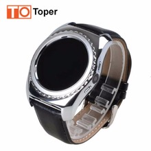 Toper Wearable Devices 912 Smart Watch Support SIM TF Card Electronics Wrist Watch Connect Android Smartphone PK DZ09 Smartwatch