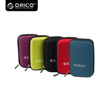 ORICO 2.5 Inch Protection Bag for External Portable HDD Box Case-Black/Red/Green/Purple/Blue PHD-25(China)