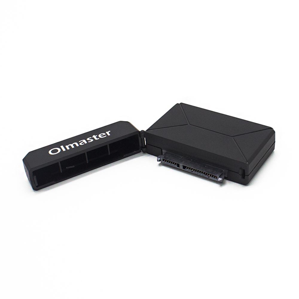 Festnight OImaster EB-0001BU3 2.5//3.5 SATA I//II//III to USB3.0 Adapter Hard Drive Box Converter for SSD HDD
