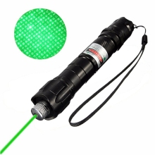 8000M High Power Green Laser Pointer Pen Beam 532nm Laser Pen Powerful Adjustable Focusing Burning Beam with Light Lamp Star Cap(China)