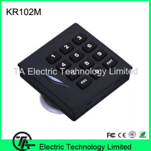 KR102M outdoor access control system card reader with keypad IP65 waterproof card reader 13.56MHZ IC card wiegang reader