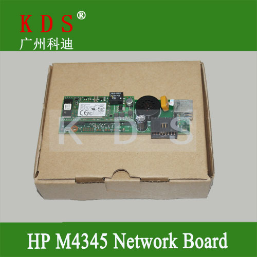 Original fax board forHP M4345MFP network board forHP ALL-in-one printer parts Q3701-60004 remove from new machine<br><br>Aliexpress