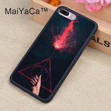 Buy MaiYaCa Harry Potter Design Soft TPU Rubber Back Cover Case Apple iphone 8 Plus Phone Cases for $4.32 in AliExpress store