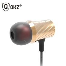 Headset and Earphones 100% Original QKZ DM3 Luxury Stereo Earphone Headset 3.5mm In Ear Earphone For Phone fone de ouvido(China)