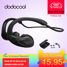 dodocool Bluetooth Earphone IPX4 Headset Headphones NFC Wireless Earphones Microphone AptX Sport Stereo Earphone for Xiaomi HTC(China)
