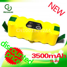 Golooloo 14.4V 3500mAh Rechargeable Battery Pack for iRobot 560 530 510 562 550 570 500 780 581 610 532 770 760 Sweeping machine