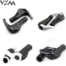 Durable Anti-slip Rubber Aluminum Alloy Integrated Bike lockab Handlebargrip beatuty design MTB Bike Handlebar Bicycle  Parts