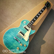LP classic electric guitar, excellent Blue Tiger, classic colors, free shipping