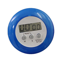 Good Round Magnetic Digital Countdown Timer Alarm With Stand Kitchen Timer Practical Cooking Timer Alarm Clock(China)