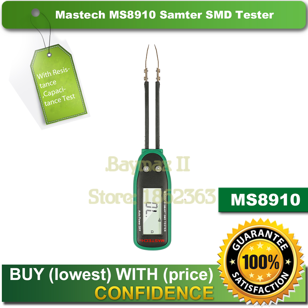 Mastech MS8910 Smart SMD RC Resistance Capacitance Diode Tester Multi Meter <br><br>Aliexpress