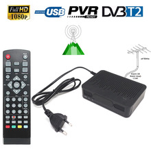 FTA HD Digital Terrestrial Antenna Signal DVB-T2 DVB-T CONVERTOR TV Tuner RECEIVER 1080P TV Set Top BOX HDMI USB PVR Playback(China)