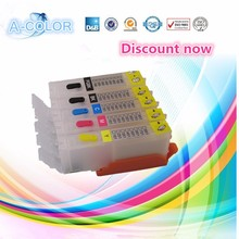 Empty PGI-250 CLI-251 refill ink cartridge for Canon PIXMA MG6320 MG5420 MX722 MX922 PIXMA iP7220 with auto reset chip 5 color