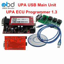 Top Rated UPA USB Programmer Main Unit UPA-USB Software 1.3 Version No Full Adapters Auto Car ECU Chip Tuning Programming Tool