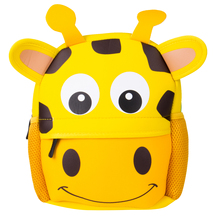 Cute Kid Toddler School Bags Backpack Kindergarten Schoolbag 3D Cartoon Animal Bag(China)