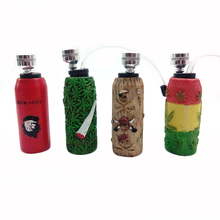 Fashion Resin+glass Pipes Hookah Shisha Smoking Pipe Weed Tobacco Pipe Smoke Narguile Mouthpiece Lighters & Smoking Accessories