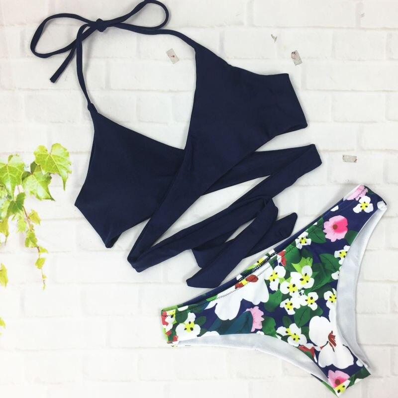 Brazilian Bikini Set Bikinis Women Push Up Swimwear Cross Bikini Body Suit Bathing Suits Biquinis Feminino 2017 Brasileiro<br><br>Aliexpress