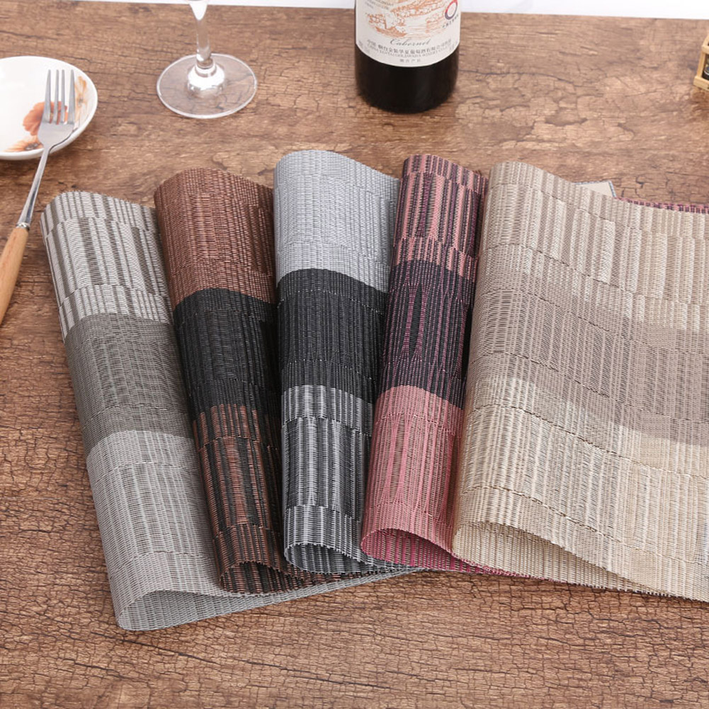 4 x Bamboo  Kitchen Placemats Place Mat Dinner Table Decor Gift