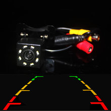 Car Rear View Camera Backup HD 8 LED Hight Vision Waterproof Reverse image for Parking Car DVD Monitor Mirror GPS Player