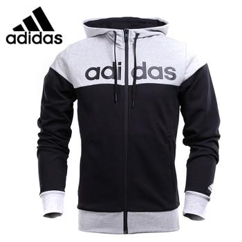 Original de la Nueva Llegada ARTÍCULOS hombres chaqueta Con Capucha Deportiva de ATLETISMO de Adidas
