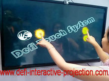 "Best price!! 40"" 2 Points usb powered IRtouch screen frame  for LCD TV for touch table, kiosk etc"