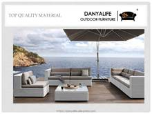 DYSF-D7701 Danyalife High Quality Luxury Outdoor Rattan Sofa and Coffee Table