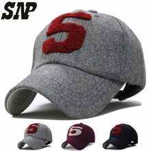 New Men Women Red Sox Cap Plain Adjustable Gaphy Baseball Cap Curved Hat  Solid Color Leisure Baseball Caps Baseball Caps