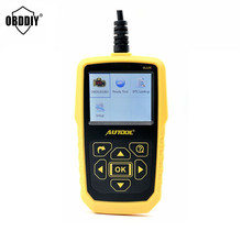 Automotive OBD2 Code Scanner AUTOOL OL129 Battery Monitor and EOBD+CAN Diagnostic Tool Live Data Stream better than Autel AL519