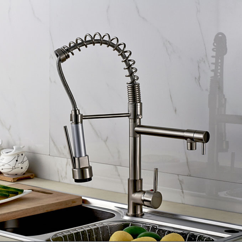 Promotion-Good-Quality-Kitchen-Faucet-Mixer-Taps-Brushed-Nickel-Dual-Sprayer-Spring-Kitchen-Sink-Faucet (1)