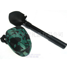 Camping outdoor folding multifunctional shovel with compass camping hiking equipment tourist equipment